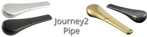 The Journey Pipe - Three Piece Clog Proof Pipes
