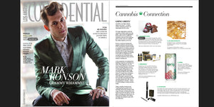 WickiePipes.com featured in LA Confidential Magazine 2015 Winter Issue.