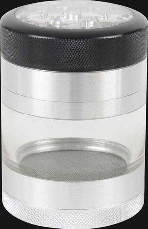 "Kannastor - Clear-Jar 4pc 2.2"" Grinder"