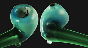 Gandalf Glass Pipe Green 22 Inch