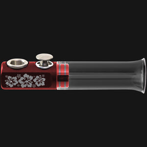 Fumo Pipe Bling Aloha Red