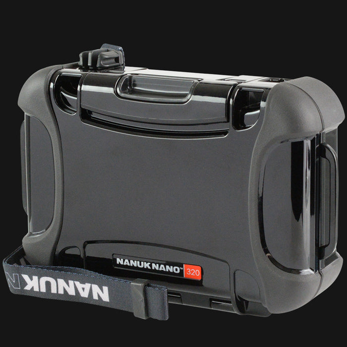 Nanuk - Nano 320 Protective Pipe Case Medium - Black