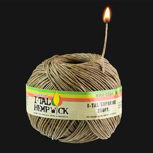 I-Tal - Organic Hemp Wick Supreme Spool - 250 ft