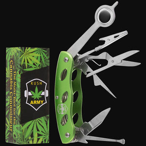 Kush Army Knife - Smokers Multi Tool