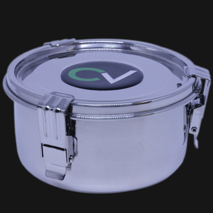CVault - Medium 1 OZ. Airtight Stainless Steel Storage Container