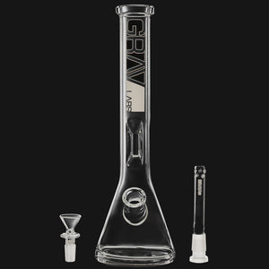 "Grav Labs - Beaker 12"" Water Pipe"