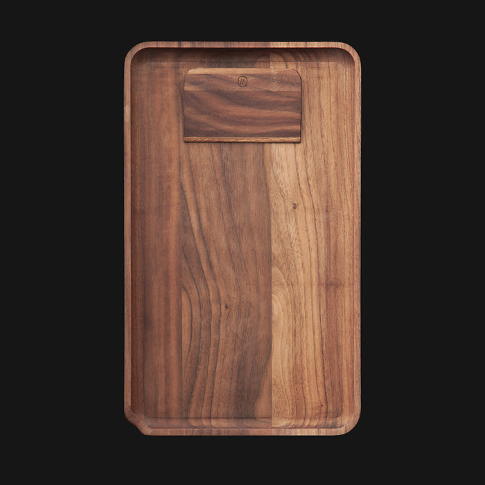 Marley Natural - Large 12-Inch Wood Rolling Tray