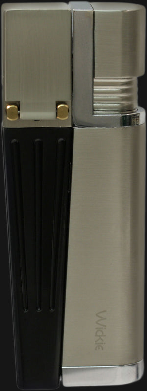 Wickie Pipe Lighter Original - Satin Nickel