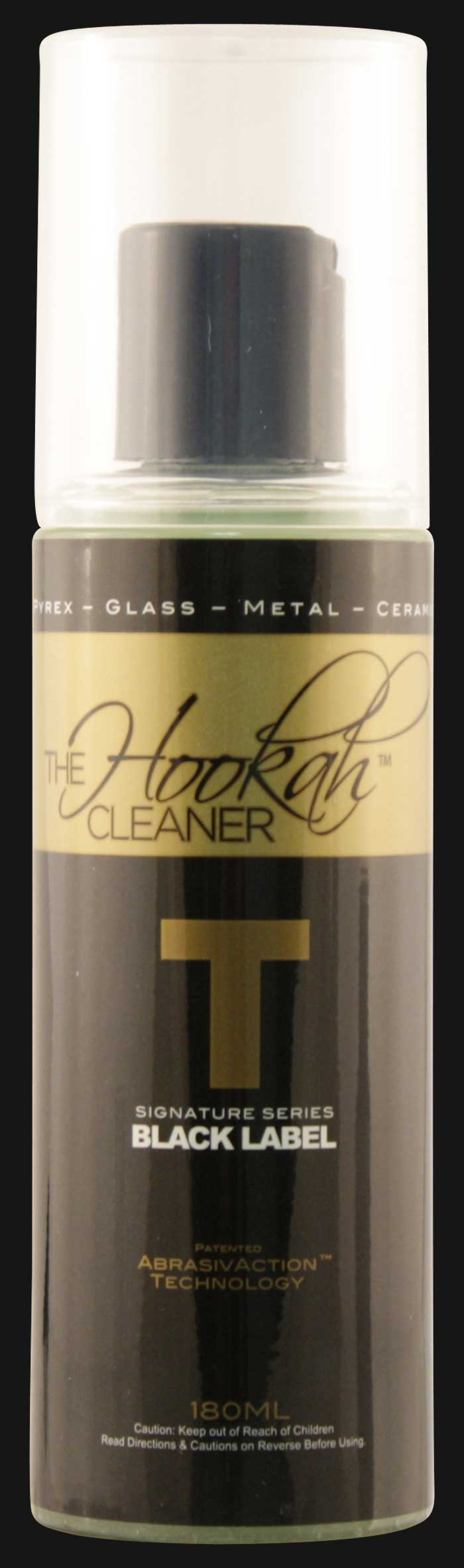The Hookah Cleaner - Black Label T Pipe Cleaner 180 ML.