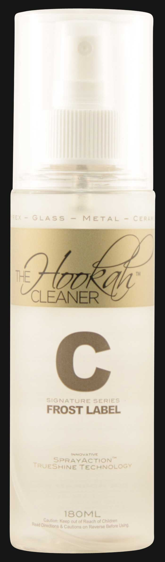The Hookah Cleaner Spray Frost Label C