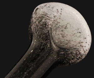 SnowBlack Glass Pipe