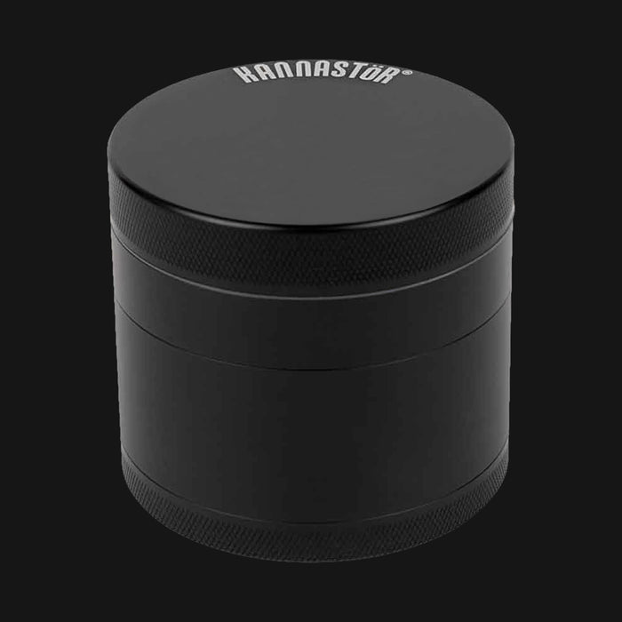 "Kannastor - Grinder Solid Body 4pc 2.5"" - Black"