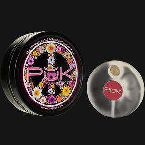 PUK - Glass Pipe 2.0 - Frosty Pink