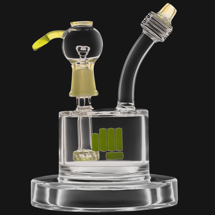 Snoop Pounds - Spaceship 13.50-Inch Glass Dab Rig Water Pipe