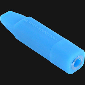 Ultimate Pipe Glass Blunt Hand Pipe Blue