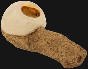 Celebration Pipes - Opal Lavastone Ceramic Hand Pipe