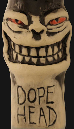 JM Ceramics - DOPE HEAD 4-Inch Ceramic Hand Pipe