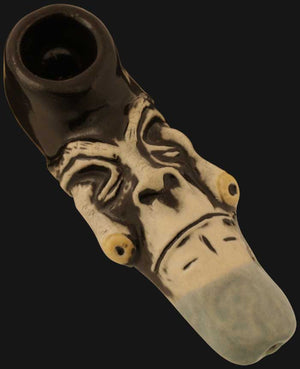 JM Ceramics - Eyes Falling Out 3.5-Inch Ceramic Hand Pipe