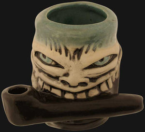 JM Ceramics - Face Shot 3.5-Inch Ceramic Hand Pipe