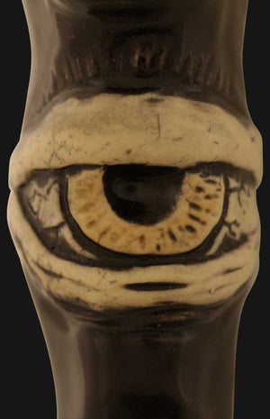 JM Ceramics - Large Eye 3-Inch Ceramic Hand Pipe