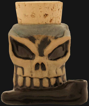 JM Ceramics - Skull Shot 2.5-inch Ceramic Hand Pipe