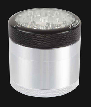 Kannastor - Clear Top 4-Piece 2.2-Inch Herb Grinder
