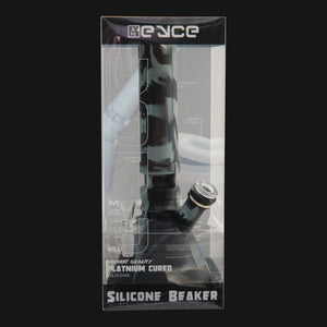 EYCE - Silicone Beaker Water Pipe - Smoke Black