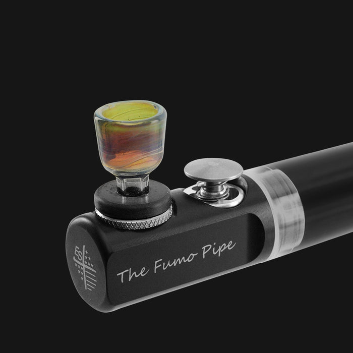 Fumo Pipe - Universal Color Glass Bowl