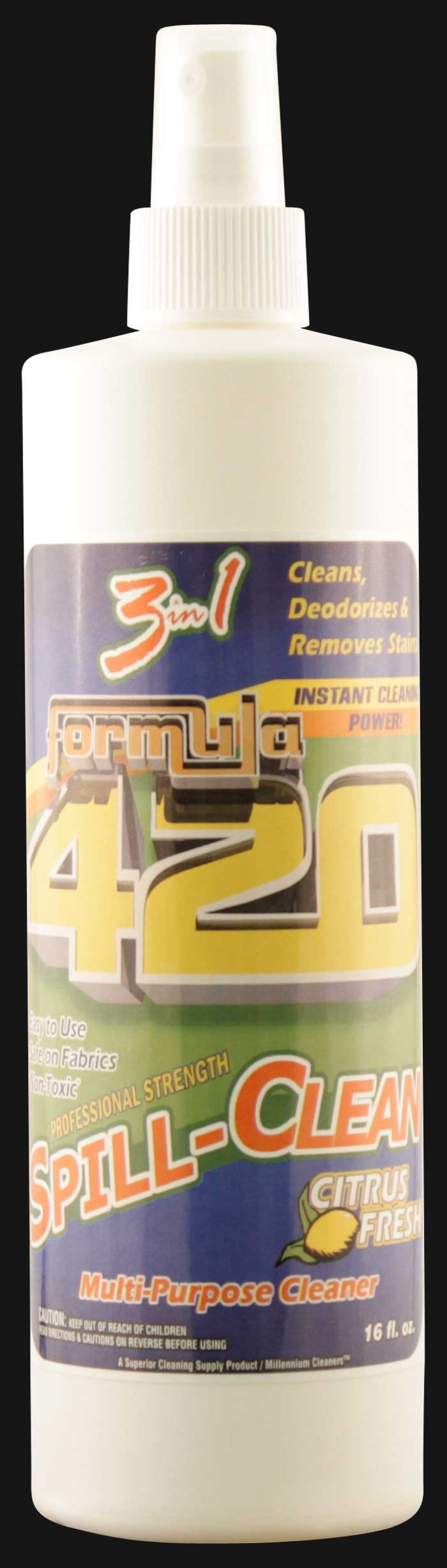 Formula 420 - Spill Clean Spray 16 OZ.