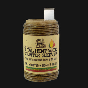 I-Tal - Organic Hemp Wick Lighter Sleeve - 16 ft