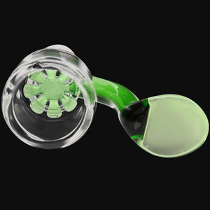 WickiePipes - 18mm Star Screen Male Dry-Herb Glass Bowl
