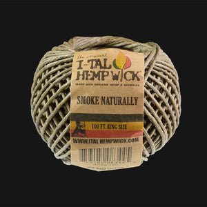 I-Tal - Organic Hemp Wick King Spool - 100 ft