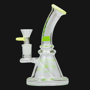 Cheech & Chong - Strawberry 7-Inch Glass Beaker Water Pipe