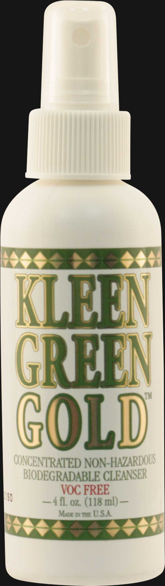 Kleen Green Gold 4 Oz. - Pipe Cleaner Spray
