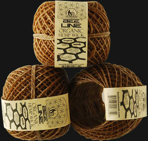 Bee Line Organic Hemp Wick 200 ft. Spool