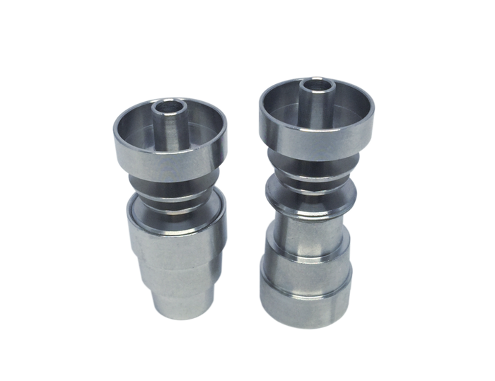 DabMove - OG 4-In-1 Hollow Universal Domeless Titanium Nail - 14-18mm Male/ Female