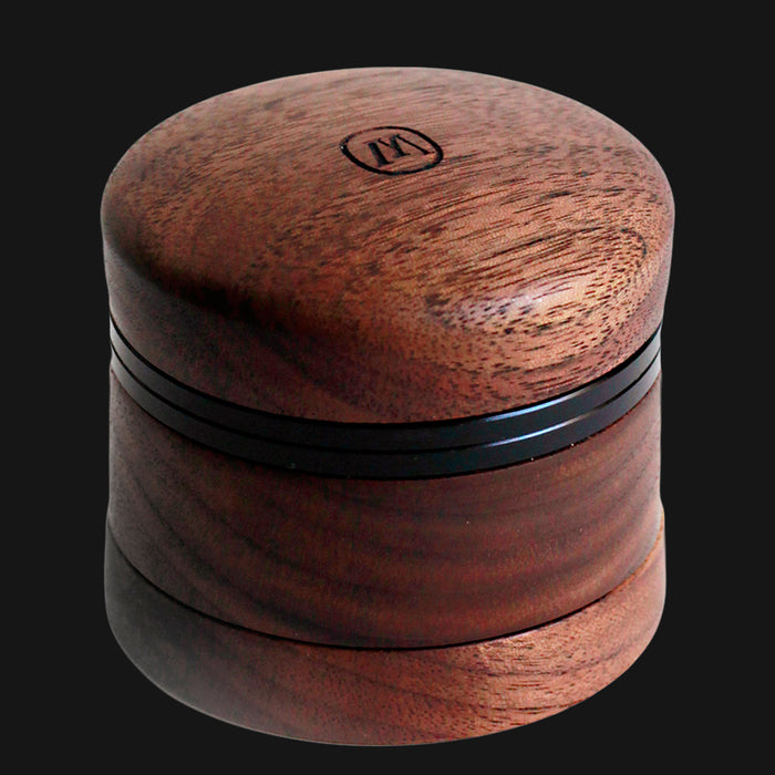 Marley Natural - Small 4-Piece 2.25-Inch Wood Herb Grinder