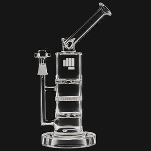 Snoop Pounds - Battleship Straight Tube Glass Dab Rig by Snoop Dogg