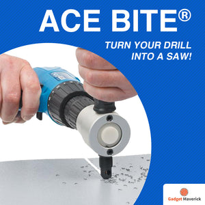 Ace Bite® - Turn Your Drill Into a Saw!