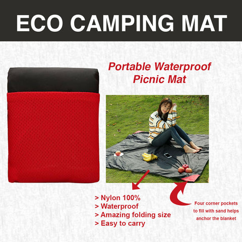 Eco Mat - Portable Waterproof Picnic Mat