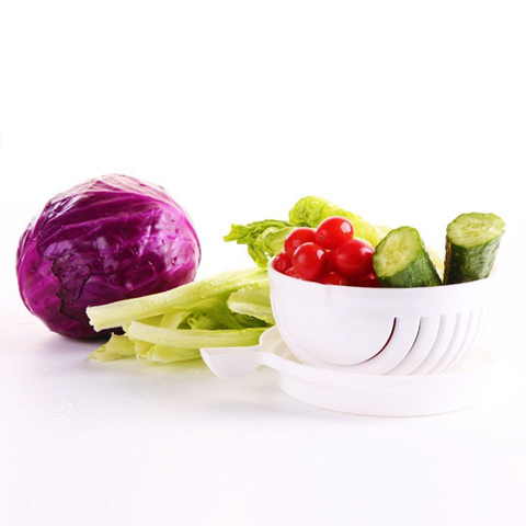 Super Salad Cutter - Make Salads in Seconds!