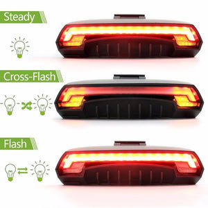 Bicycle Tail Light - Smart Wireless Rear Remote LED Tail Light