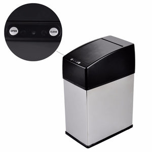 Stainless Steel touchless dustbin
