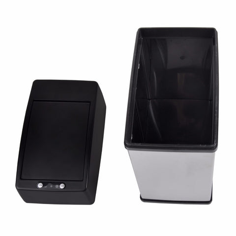 Image of Stainless Steel touchless dustbin