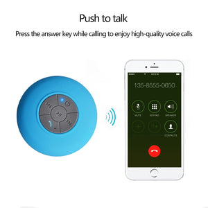 Portable Waterproof Mini Bluetooth Speaker