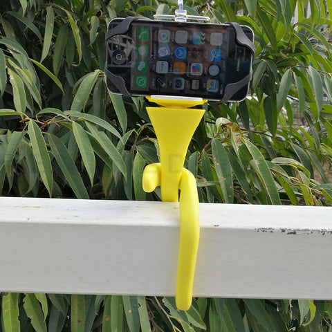 Image of 360 Degree Adjustable Banana Pod for Camera or Smartphone
