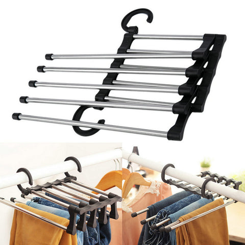 Image of Adjustable Multifunctional Closet Organizer