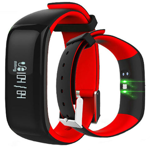 Image of Smart Activity Tracker Blood Pressure Fitness Monitor