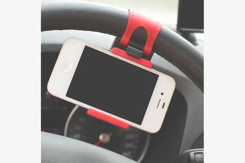 Car Steering Phone Holder