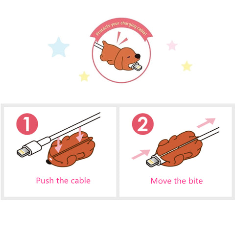 Image of Cable Cuties™ - The Original Animal Cable Protectors!